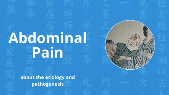 abdominal pain chinese medicine
