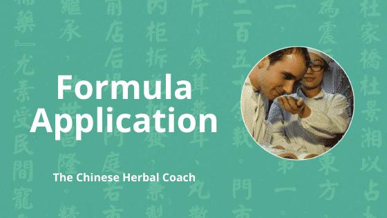 chinese herbal medicine formula applications