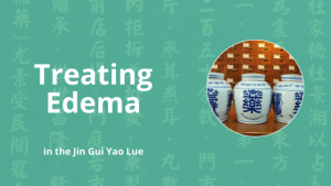 treating edema in chinese medicine