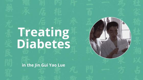 xiao ke diabetes in chinese medicine
