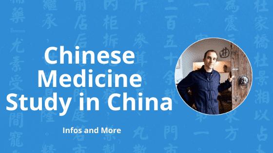 chinese medicine study in china