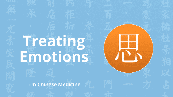 chinese medicine treating emotions