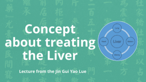 chinese medicine concept about treaing the liver