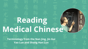 reading medical chinese